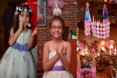 Sara S Frozen Theme Birthday